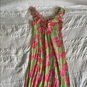 Lilly pulitzer maxi dress (xs)